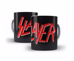 Caneca Slayer Logo Decorativo Heavy Metal Thrash Metal