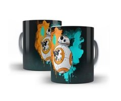 Caneca Star Wars Bb8 Colorida Produto Exclusivo Oferta