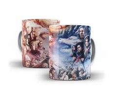 Caneca Game of Thrones Lannisters vs Starks