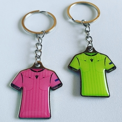 Llavero Metal Camiseta Arbitro - Referee Store