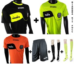 kit full arbitro diadora