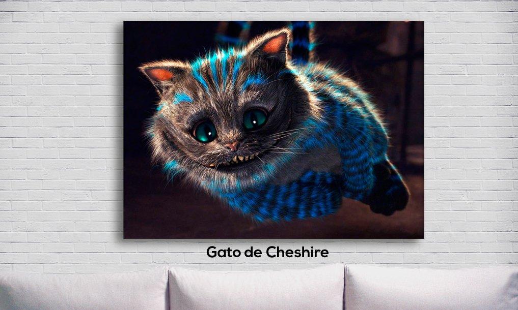 Cuadro Alicia En El País De Las Maravillas Gato De Cheshire