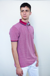 Camiseta Polo Piquet Seeder Red Plum