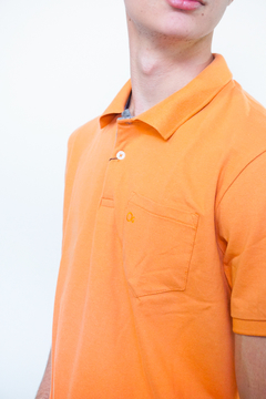Camiseta Polo Piquet Slim Ogochi orange na internet