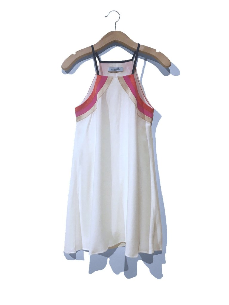 Vestido Jazmin Chebar Crudo Talle 1
