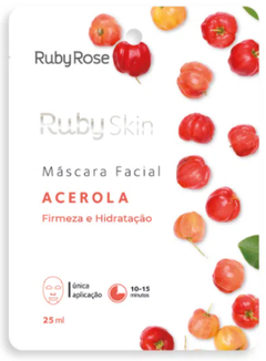 Máscara Facial Acerola HB701- Ruby Rose Skin