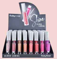 Gloss Labial Shine Hb8224-72 - Ruby Rose en internet