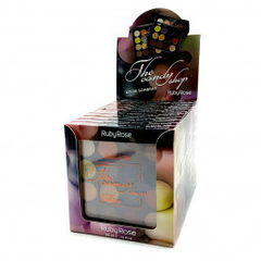 Display paleta de sombras The Candy Shop - Ruby Rose (HB1017) (12 unidades)