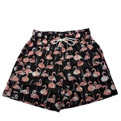 Shorts Mash Flamingos na internet