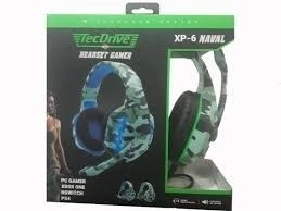Headset Gamer XP6 - TecDrive