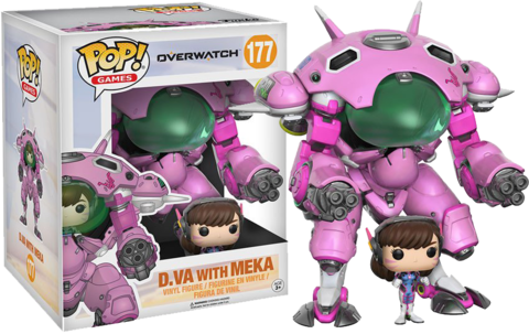 Funko POP - Overwatch:  D.VA With Meka (177) - comprar online