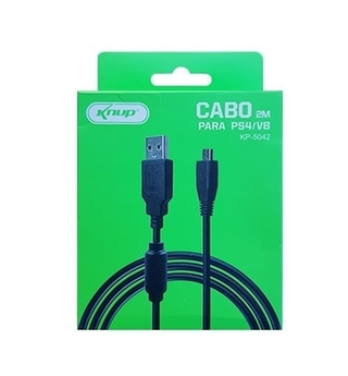 Cabo Micro USB 2 Mts - Knup KP-5042