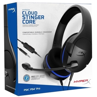 HEADSET GAMER HYPERX CLOUD STINGER CORE KINGSTON