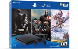 Playstation 4 1TB - BUNDLE 3 Jogos