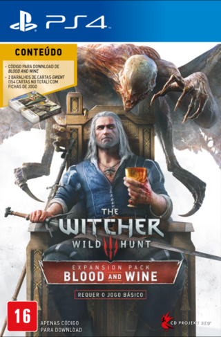 The Witcher III - Expansão Blood and Wine