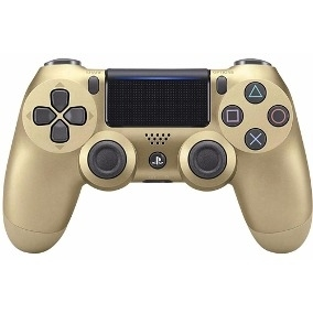 Controle PS4 Sony (Gold)