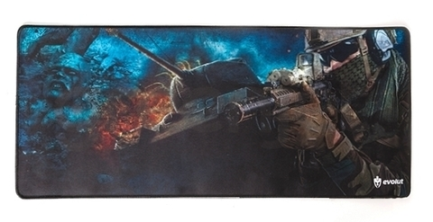 MOUSE PAD GAMER EVOLUT EG-402 BLUE 700X300X2MM/HV-MP861