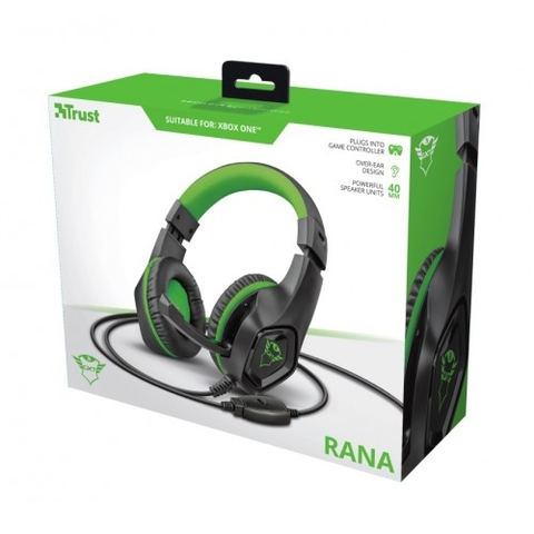 HEADSET GAMER RANA XBOX ONE - TRUST GXT 404G na internet