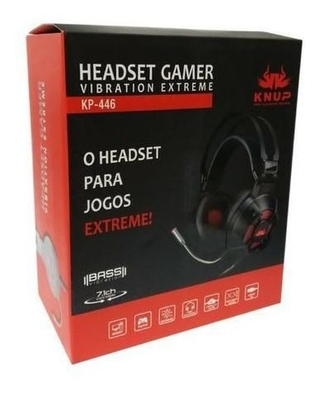Headset Gamer Vibration Extreme - Knup KP-446