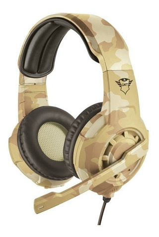 HEADSET GAMER GXT 310D - DESERT
