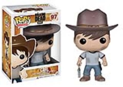 Funko Pop - The Walking Dead: Carl - comprar online