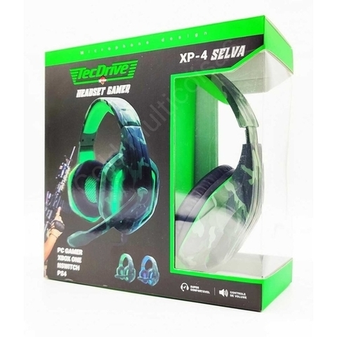 Headset Gamer XP4 - Tecdrive