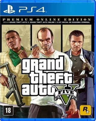 GTA V PREMIUM ONLINE EDITION PS4