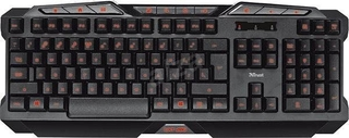TECLADO GAMER GXT 280 LED ILLUMINATED - TRUST
