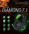 HEADSET DIAMOND 7.1 USB 2.0 - DAZZ na internet