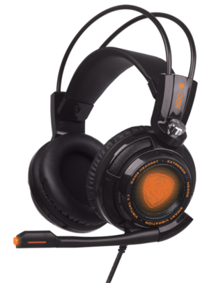 HEADSET GAMER EXTREMOR 7.1 VIBRATION HS400 - OEX