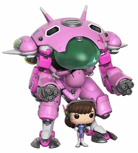 Funko POP - Overwatch:  D.VA With Meka (177)