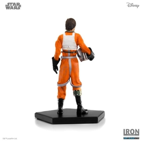 Luke Skywalker X-Wing Pilot ver. 1/10 Art Scale - Star Wars - Iron Studios - O.R Games & Colecionáveis