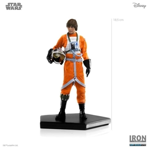 Imagem do Luke Skywalker X-Wing Pilot ver. 1/10 Art Scale - Star Wars - Iron Studios