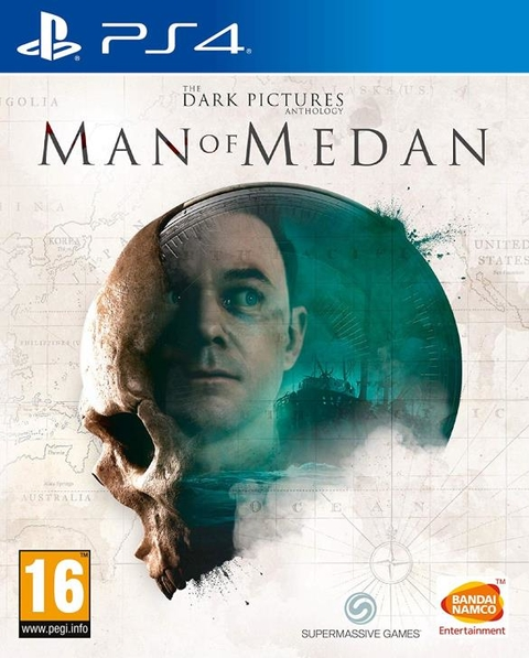 The Dark Picturis Anthology Man of Medan - PS4