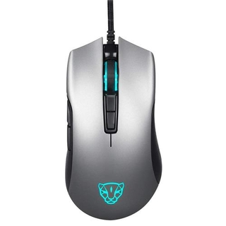 Mouse Gamer Motospeed V70 Essential Cinza 7 Botoes 7000 DPI RGB