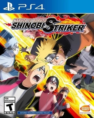 NARUTO TO BORUTO: SHINOBI STRIKER PS4
