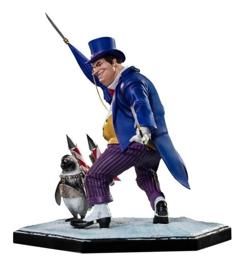 Penguin 1/10 Art Scale (by Ivan Reis) - DC Comics - Iron Studios - comprar online