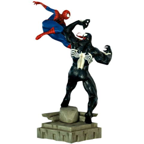Spider man vs Venom 1/6 Battle Diorama - Iron Studios na internet