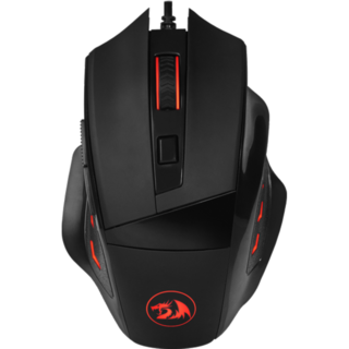 MOUSE GAMER PHASER PRETO - REDRAGON M609