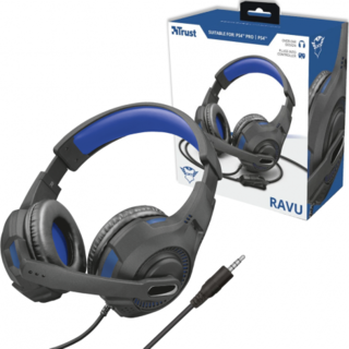 HEADSET GAMER RAVU PS4 - TRUST GXT307B