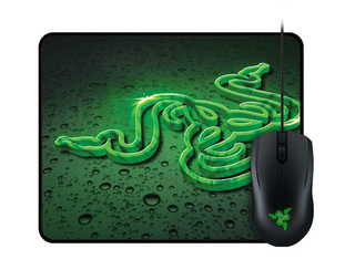 Razer Combo Mouse Abyssus + Mousepad Goliathus Speed Terra