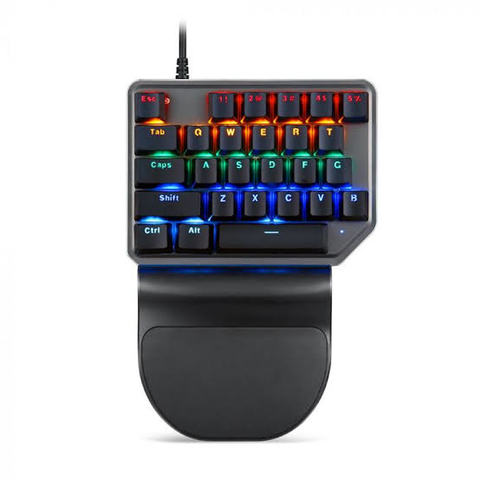 Teclado Mecanico Motospeed K27 (Switch Outemu Azul) Rainbow