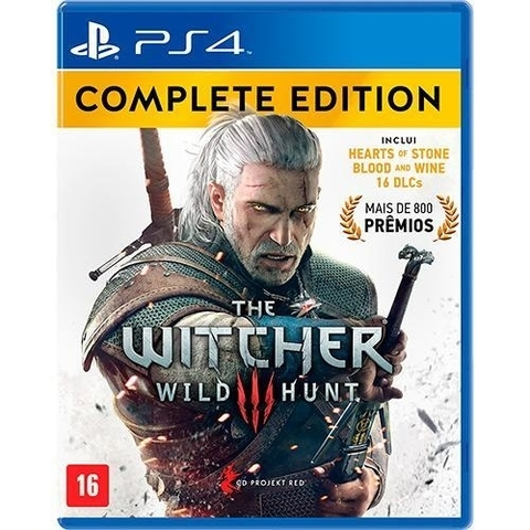 The Witcher III: Wild Hunt - Complete Edition PS4