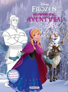 Disney Colorindo Frozen - Aventura