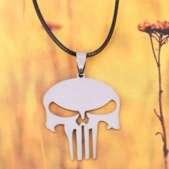 Colar Justiceiro - The Punisher Marvel - Loja da Maya