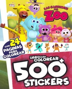 Disney-Colorea Y Decora ó 500 Stickers - Oferta!!!