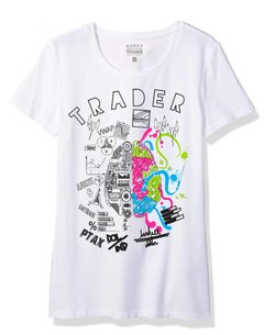 Camiseta Feminina Baby Look Long Trader Mind