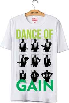 camiseta gain useburry dancing lobo de wall street wallstreet