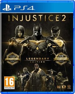 INJUSTICIE 2 LEGENDARY EDITION PS4