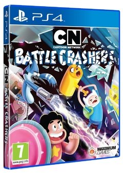 CARTOON NETWORK BATTLE CRASHERS PS4